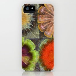Uniteable Formation Flower  ID:16165-084538-89880 iPhone Case
