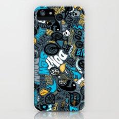 Bikes pattern iPhone (5, 5s) Slim Case