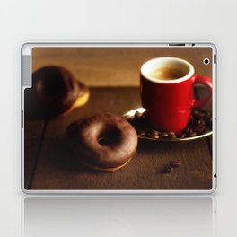 Fresh Donuts for coffee Laptop & iPad Skin
