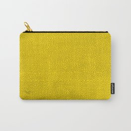 Boom Things: Memphis, Black on Yellow Carry-All Pouch
