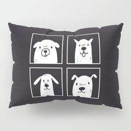 dog dog dog dog Pillow Sham