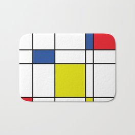 Mondrian 1 Bath Mat