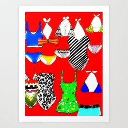 The Swimsuit Issue II Art Print