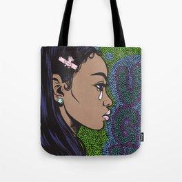 UGH Crying Girl Tote Bag