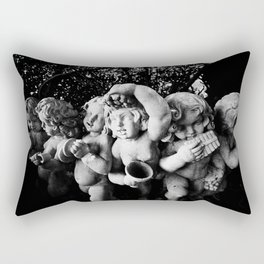 Joyful Cherubs Rectangular Pillow