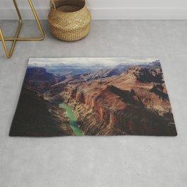 The Colorado Runs Through Marble Canyon Rug