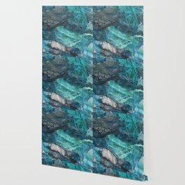 Cerulean Blue Marble Wallpaper