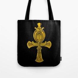 Egyptian Ankh Ancient Eye Of Horus Symbol Tote Bag