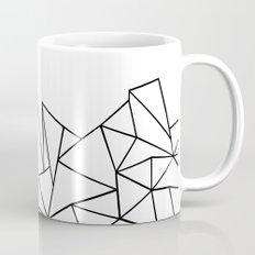 Ab Peaks White Mug