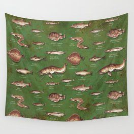 Fishes Wall Tapestry