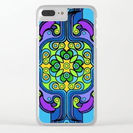 Rivets and Spinners Clear iPhone Case