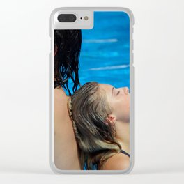 061915 Clear iPhone Case