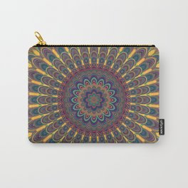 Bohemian oval mandala Carry-All Pouch