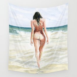 Waves Of Freedom Wall Tapestry
