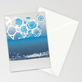 water crystals Stationery Cards