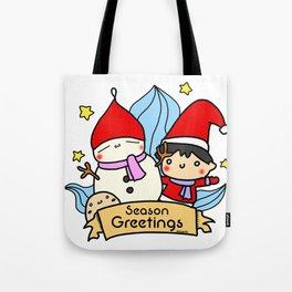 Season greetings from Kendylife Tote Bag