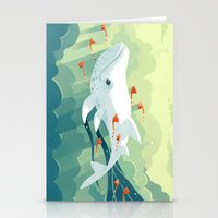 freeminds Stationery Cards featuring Nightbringer 2 by Freeminds