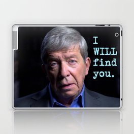 I WILL find you Laptop & iPad Skin