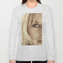 Brigitte Bardot, Contempt, movie poster, Le Mépris, Jean-Luc Godard, Fritz Lang, Long Sleeve T-shirt