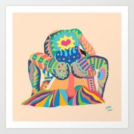 SIT ON IT! Art Print