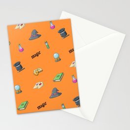 Magical Icons Pattern Stationery Cards