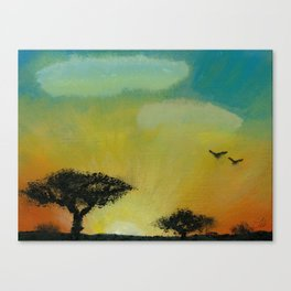 Is This Hello or Goodbye Canvas Print