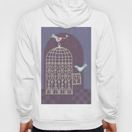 Leaving the Birdcage Hoody