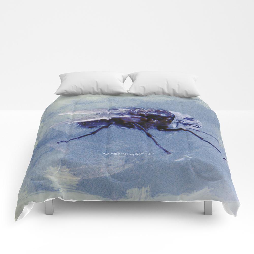 Satan Bug 005 Comforter by Lazybonesstudios CMF813158