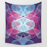 psychedelic Wall Tapestries featuring Psychedelic by Scar Design