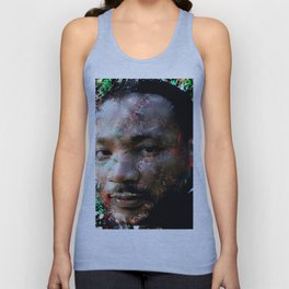 MARTIN LUTHER KING Unisex Tank Top