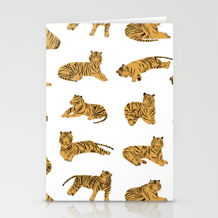 Tigers Stationery Cards