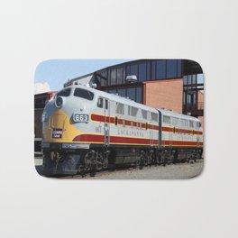 Engine 664 Lakawanna Railroad Bath Mat