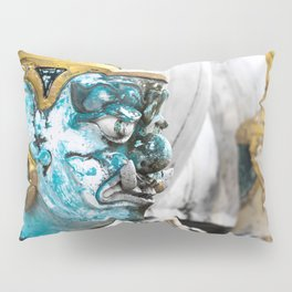 Buddhist Temple Demon Pillow Sham