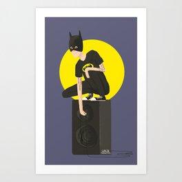 Tegan and Sara: Bategan #2 Art Print