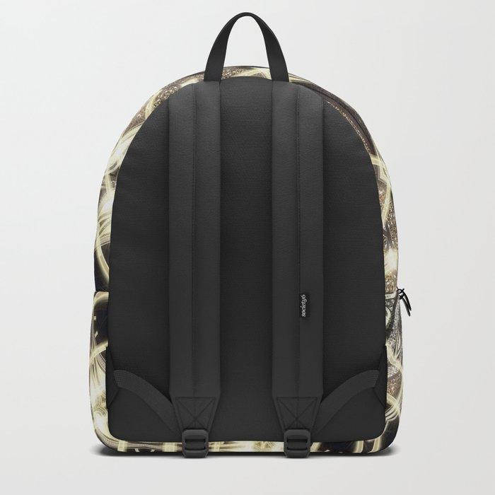 Yin Yang Geometry Mandala V1 Backpack