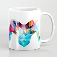 ram Mugs featuring Ram by haroulita