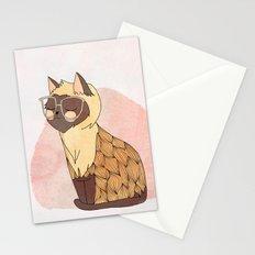 Hip Cat Stationery Cards
