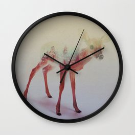 Little Ones: Fawn Wall Clock
