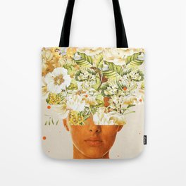 SuperFlowerHead Tote Bag
