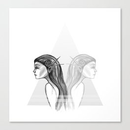 Double  Canvas Print