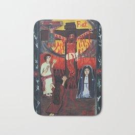 Fatima Crucifixion Bath Mat