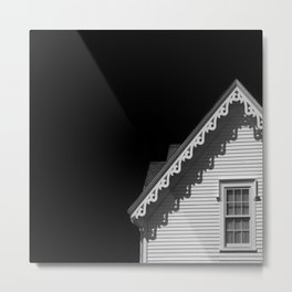 Black and White Architecture Metal Print