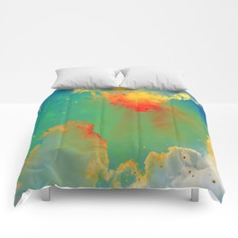 Goldfishes of the Universe Comforters