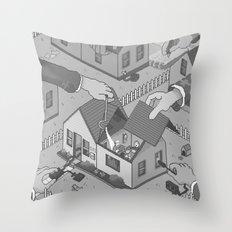 Surveillance Throw Pillow