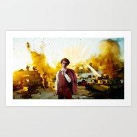 napoleon dynamite Art Prints featuring Action Exsplosions :Napoleon Dynamite by Silo Louis