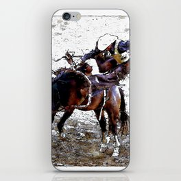 The Dismount   -   Rodeo Cowboy iPhone Skin