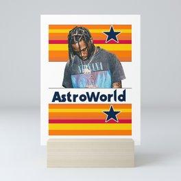 Astroworld Mini Art Print
