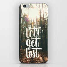 let's get lost ^_^  iPhone & iPod Skin