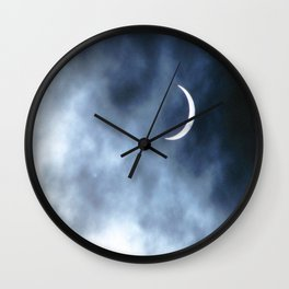 Eclipsed Wall Clock