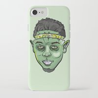 kendrick lamar iPhone & iPod Cases featuring Kendrick Lamar Yoda by Sneaker Pie